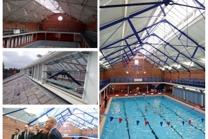 Chester Baths picture montage logo